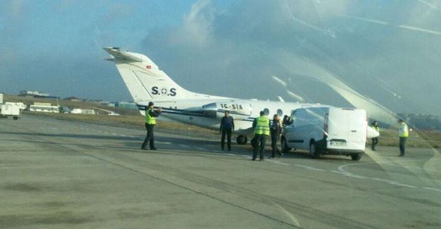 Atatürk Havalimanı'nda uçağa minibüs çarptı