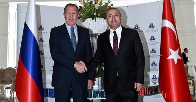 Çavuşoğlu ve Lavrov Antalya'da bir araya geldi