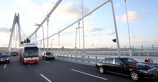 Emniyet'ten polislere: Osmangazi ve Yavuz Sultan Selim Köprüsü'nden geçmeyin