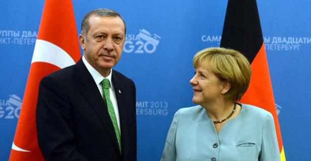Erdoğan ve Merkel telefonda görüştü