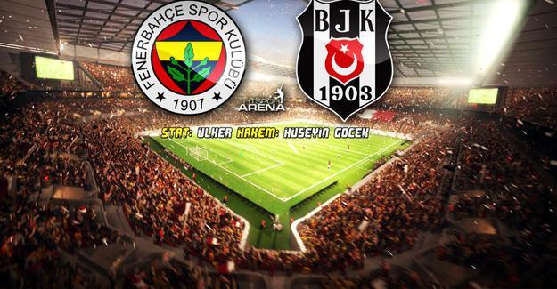 Fenerbahçe – Beşiktaş maçı başladı
