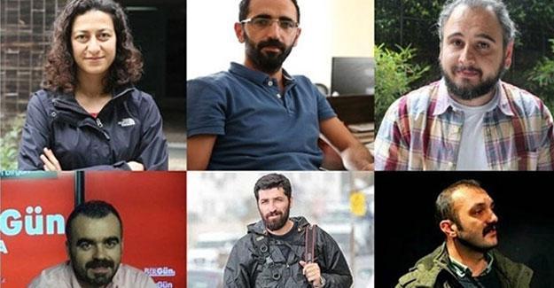 Gözaltındaki gazetecilerden mesaj: Haber yapmaya daha büyük sarılın