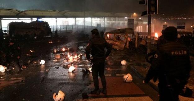 İstanbul Beşiktaş'ta patlama: 27 polis, iki sivil hayatını kaybetti, 166 yaralı var