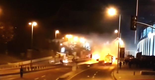 İstanbul Beşiktaş'ta patlama: Yaralılar var