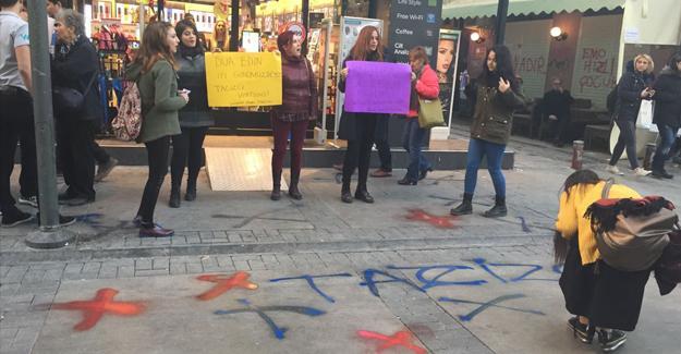 İzmir'de Watsons protestosu