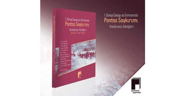 Pontos soykırımı kitabı tanıtım ve söyleşisi gerçekleşti