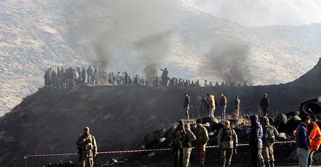 Şirvan'da 15. işçinin cenazesine ulaşıldı