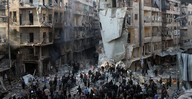 Suriye ordusu Halep'te 5 bölgeyi daha aldı