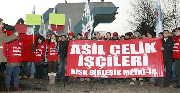 Asil Çelik'te grev kararı
