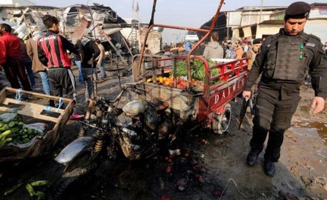 Bağdat'ta pazara bombalı araçla saldırı: Çok sayıda ölü var