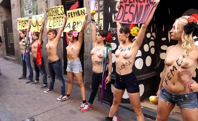 FEMEN dağıldı iddiası