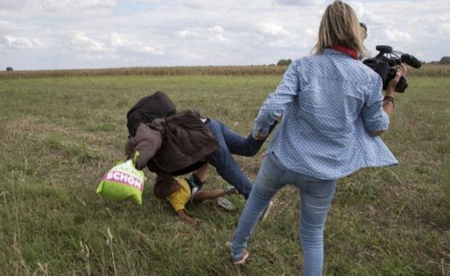 Göçmenlere çelme takan kameraman hapse girmeyecek