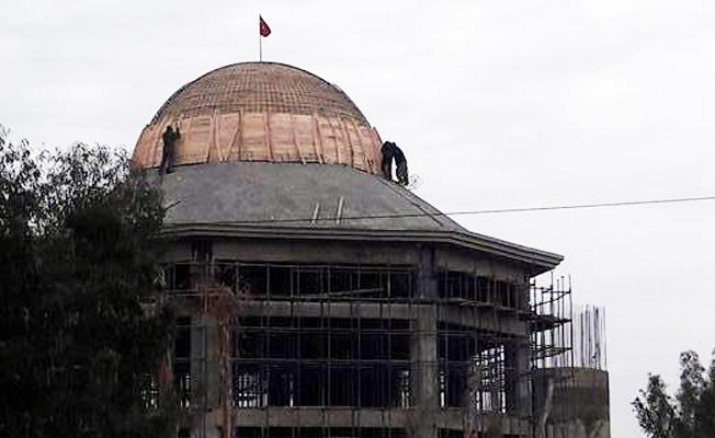 Tarsus'ta cami işçileri 'Allah'a emanet'