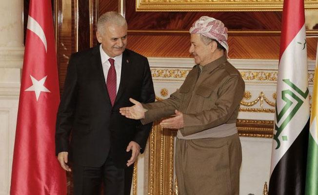 Yıldırım ve Barzani'den ortak açıklama