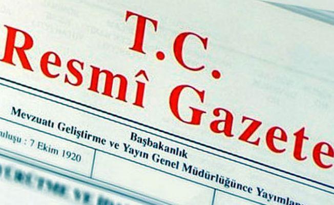 Anayasa değişikliği Resmi Gazete'de referandum 16 Nisan'da
