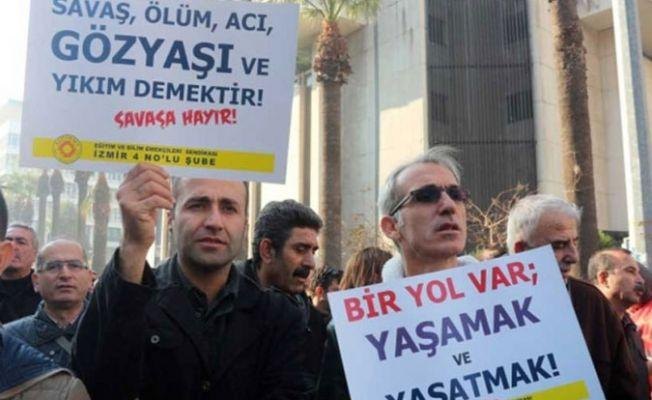 Eğitim Sen İzmir Şubeleri: Cezalar mücadelemizi engelleyemez