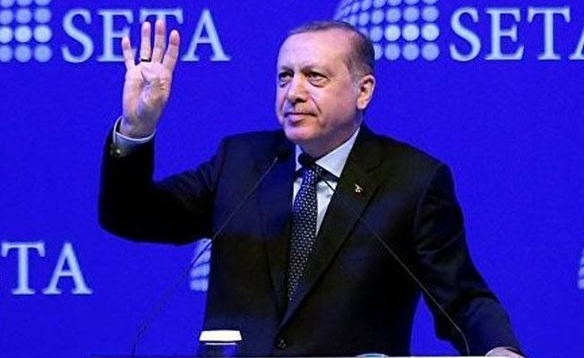 Erdoğan: Bu ülkeyi bölmek, parçalamak isteyenler 'hayır' diyor
