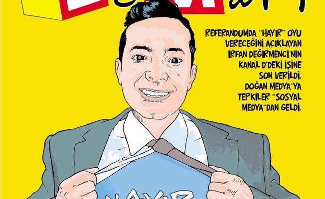 Leman'dan İrfan Değirmenci kapağı: Hayır