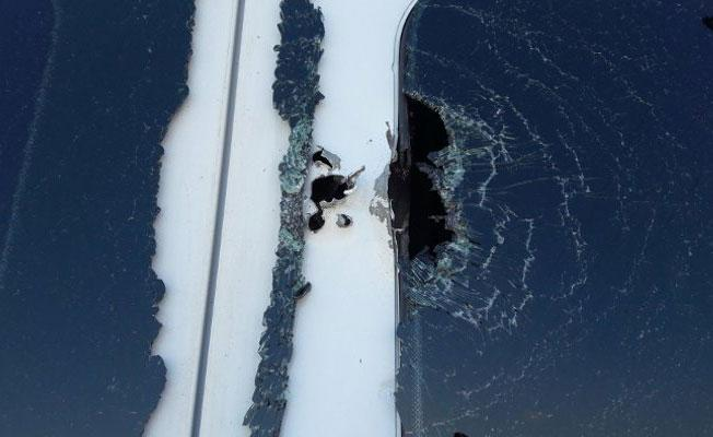 Lice'de yolcu minibüsüne ateş açıldı