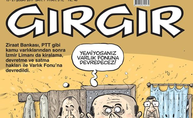Mizah dergisi Gırgır kapatıldı
