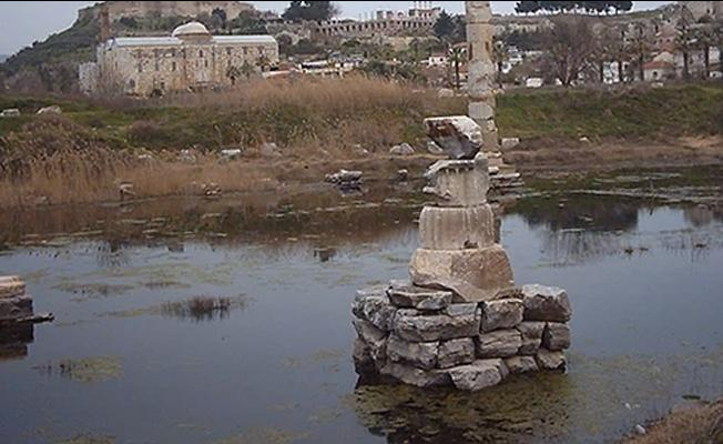 Sular altında kalan Artemis Tapınağı için ihaleye çıkılacak