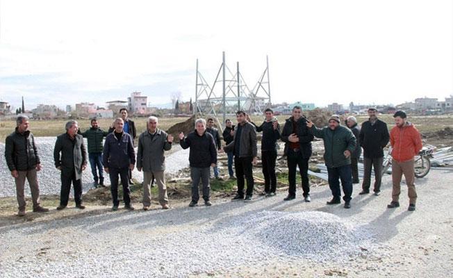 Torbalı'daki baz istasyonu yapımını durdular