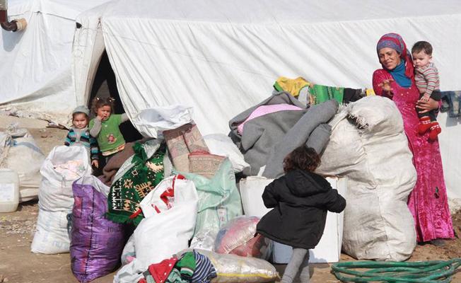 Torbalı'daki mülteci kamplarına jandarma müdahalesi