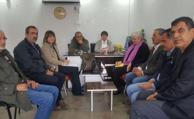AB heyeti, HDP'yi ziyaret etti
