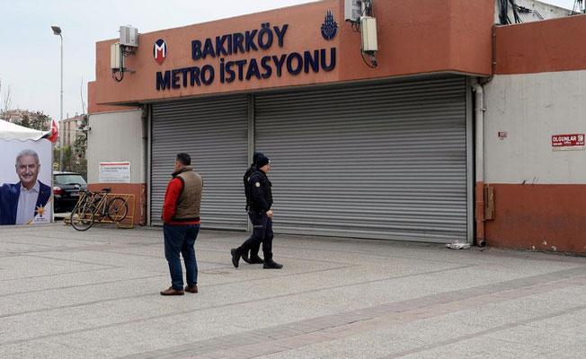 Bakırköy Metrosu 'Newroz önlemi' gerekçesiyle kapatıldı