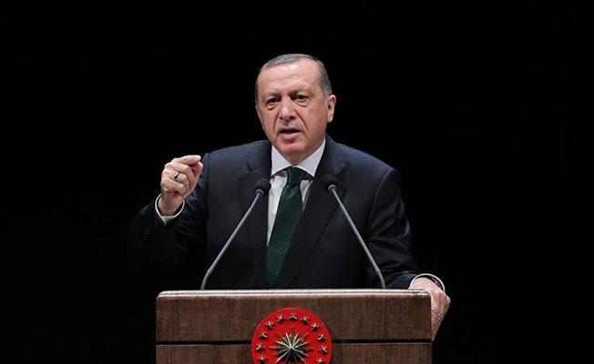 Erdoğan: Bunlar Haçlı-hilal savaşını başlattılar