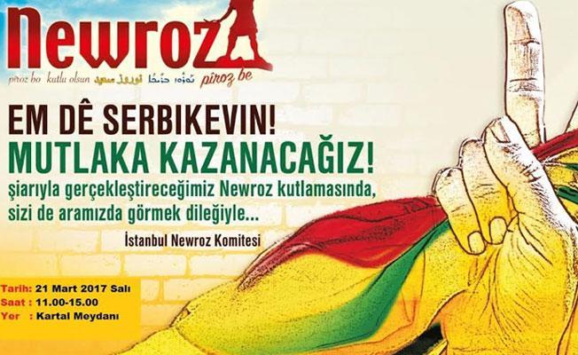 İstanbul'daki Newroz kutlamasına katılım çağrısı