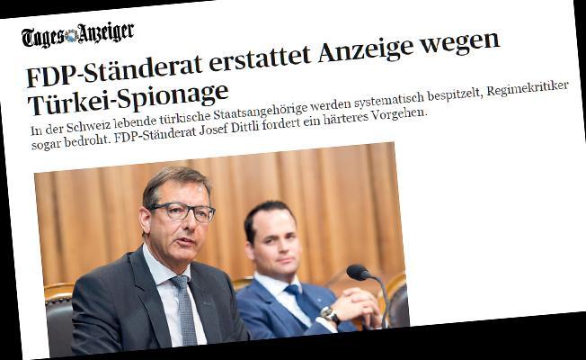 İsviçreli senatörden Türk örgütlenmelerine suç duyurusu