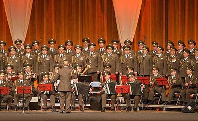 Kızıl Ordu Korosu İstanbul'a geliyor