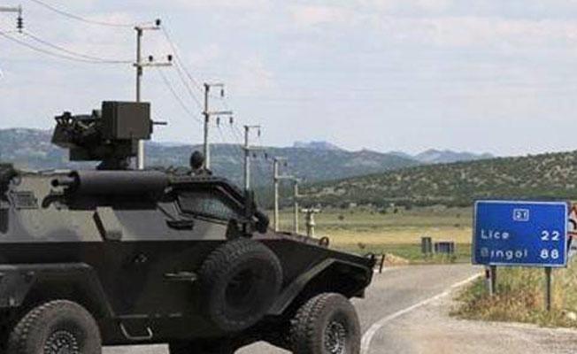 Lice'de çatışma: 2 asker hayatını kaybetti
