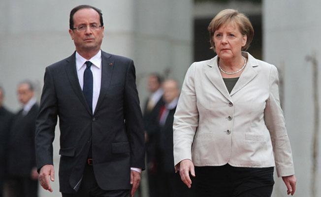 Merkel ve Hollande'dan Erdoğan'a 'Nazi' tepkisi: Kabul edilemez