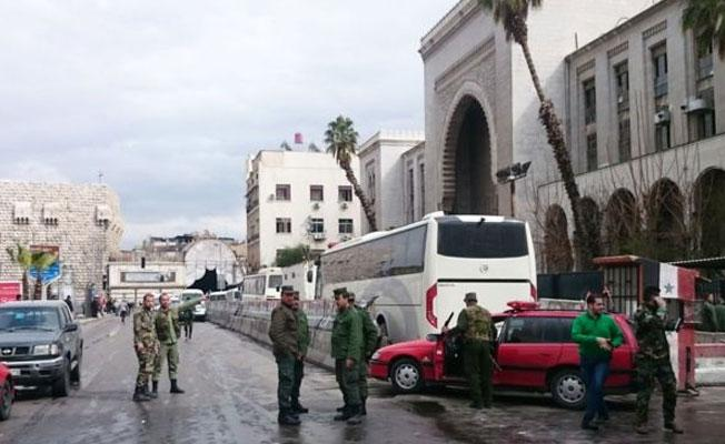 Şam'daki Adalet Sarayı'nda intihar saldırısı