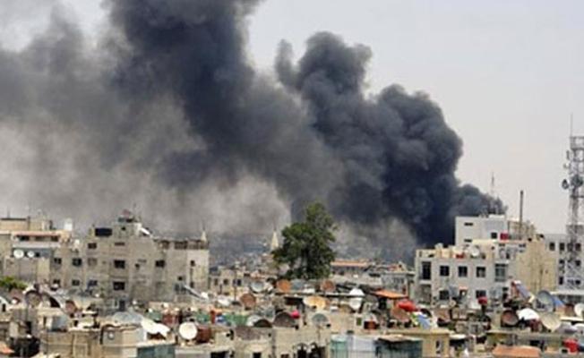 Şam'ın dış mahallelerinde çatışma