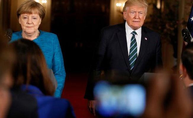 Trump: Almanya, ABD ve NATO'ya borçlu