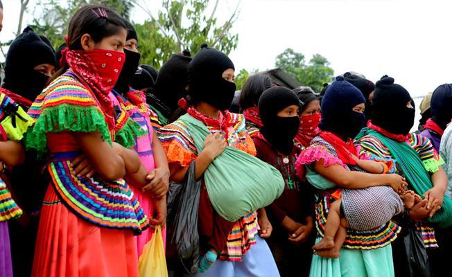 Zapatistalar, Trump'ın sınır dışı ettiği mülteciler için kahve satacak