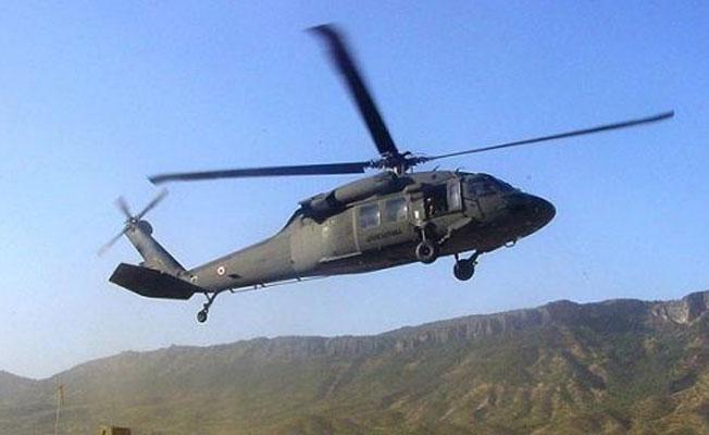 Dersim'de düşen helikoptere ulaşıldı: 12 kişinin hayatını kaybettiği belirlendi
