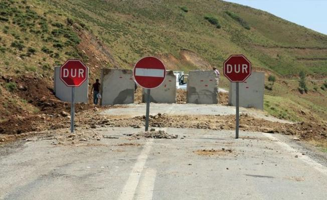 Şırnak'ta 5 bölgede yasak