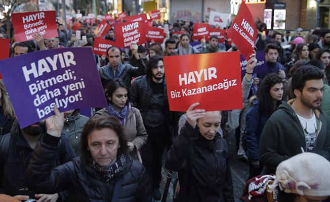 Emniyet'ten YSK'nın kararını protesto edenlerin gözaltına alınmasına ilişkin açıklama