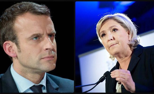 Fransa'da cumhurbaşkanlığı seçiminde ilk tur sonuçları belli oldu