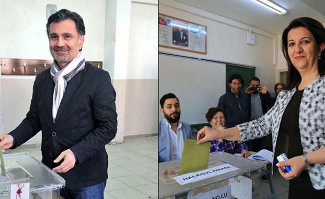 HDP'li vekiller oy kullandı: 'Hayır'ın çıkması hepimiz için çok önemli'