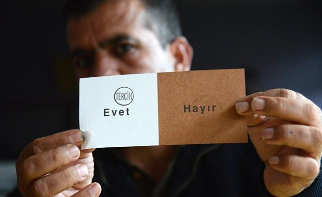 Partilere göre oy dağılımı: MHP'nin yüzde 73'ü 'Hayır' dedi