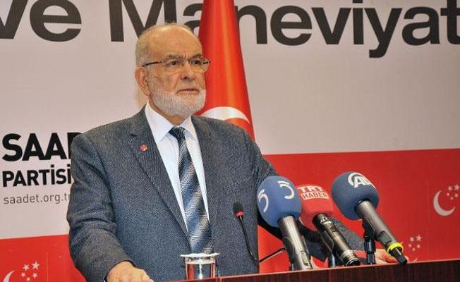 Saadet Partisi'nden Enis Berberoğlu'nun tutuklanmasına tepki