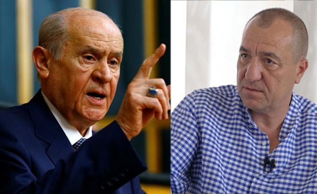 Tezkan'dan kendisine hakaret eden Bahçeli'ye: Referandum sonucu canını acıtmış