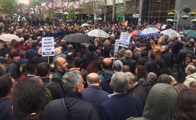 Türkiye genelinde 'oyuna sahip çık' protestosu: Hayır bitmedi, yeni başlıyor!