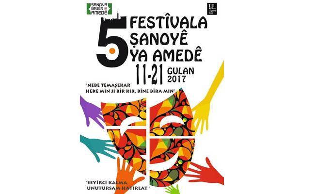 5. Amed Tiyatro Festivali başlıyor