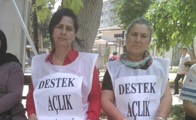 Ali İsmail Korkmaz ve Ahmet Atakan'ın anneleri Gülmen ve Özakça'ya destek için açlık grevinde